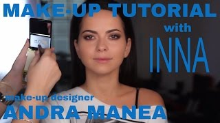 MAKE-UP TUTORIAL | GET THE LOOK of INNA! Backstage with INNA!!!