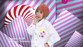 CRAYON POP was Hurricane Pop with Bing Bing