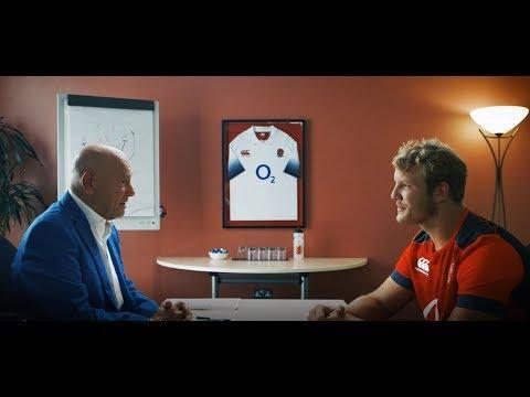 Claude Littner interviews England rugby stars