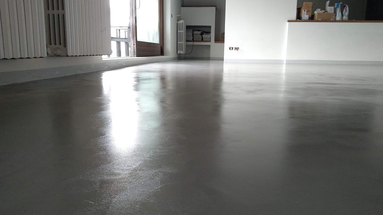 Manodopera Pavimento Cemento Spatolato Youtube