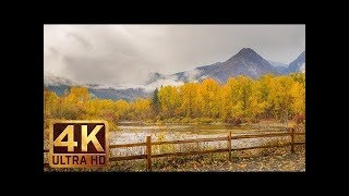 Scenic nature documentary film about wa ...