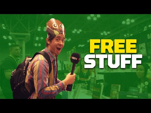 How Much Free Stuff Can You Get at New York Comic-Con?