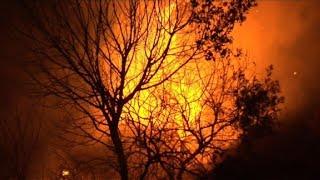 Sisco et Pietracorbara, une nuit en proie aux flammes