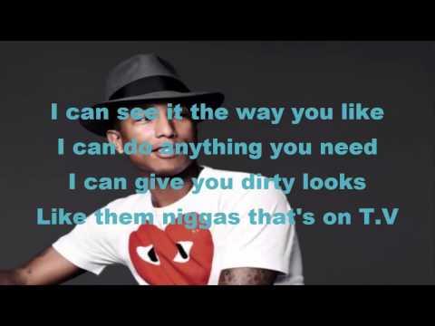 Free Download Pharrell Williams - Come Get It Bae Ft Miley Cyrus - Lyrics Mp3 dan Mp4