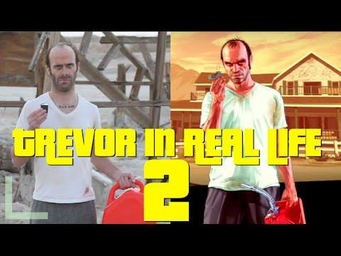 Trevor in Real Life 2 (GTAV Prank)