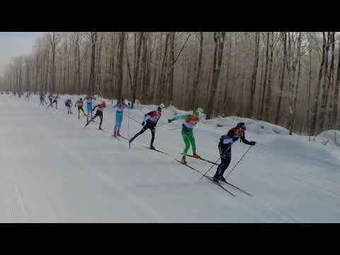 American Birkebeiner 2018 - Elite Men In Full Stride