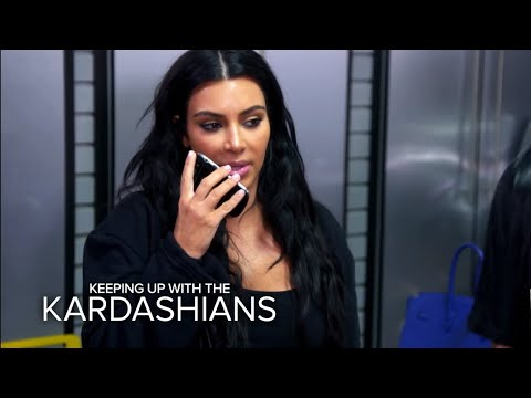 KUWTK | Kim Kardashian Chews Out Rob for Bashing Kris and Kylie | E!