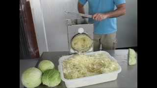 Deluxe Cabbage Shredder Product Demonstration