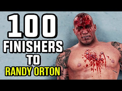WWE 2K20 100 Finishers To Randy Orton!