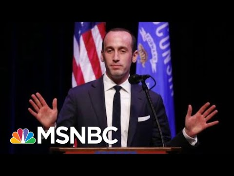 Emails Show Stephen Miller Promoted White Supremacist Content | The Last Word | MSNBC