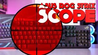 ASUS ROG Strix Scope Review - Take CTRL!