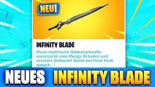 Fortnite INFINITY BLADE SCHWERT richtig SPIELEN!!