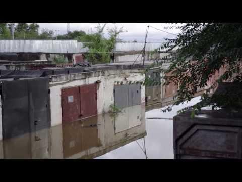 Хабаровск: Наводнение-2013. Ул.