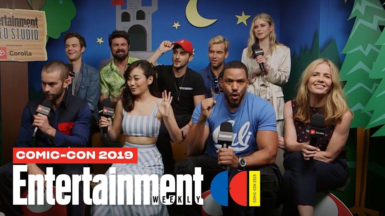 'The Boys' Stars Karl Urban, Jack Quaid & More Join Us LIVE | SDCC 2019