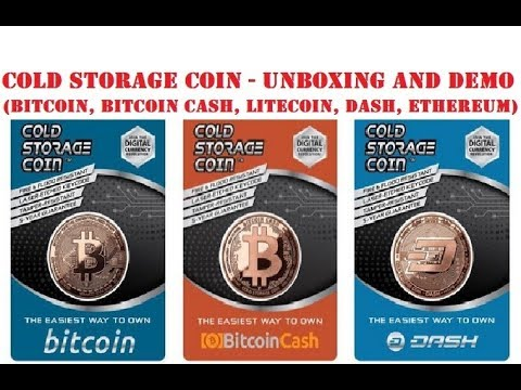 Cold Storage Coins - Unboxing And Demo