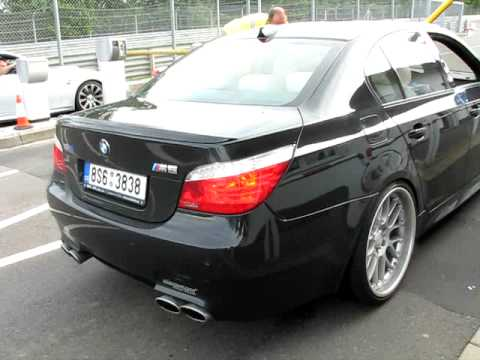 bmw m5 v10 eisenmann youtube. Black Bedroom Furniture Sets. Home Design Ideas