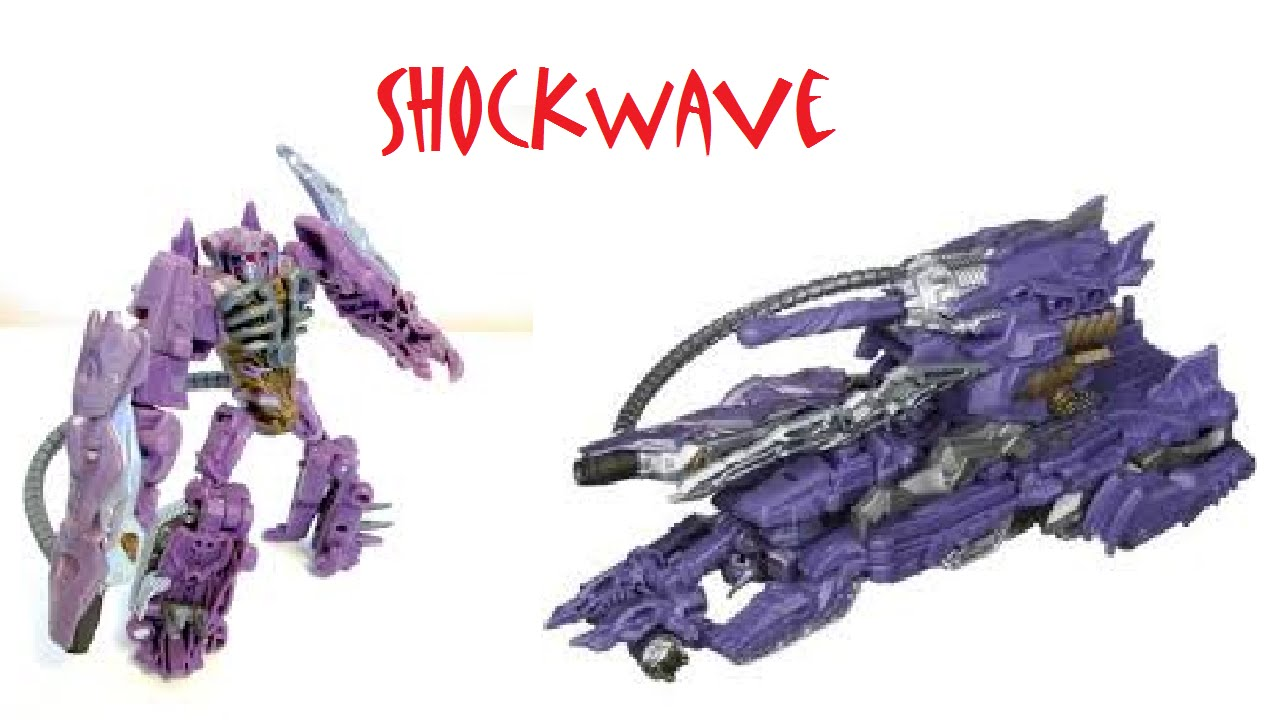 Transformers Dotm Cyberverse Shockwave With Fusion Tank