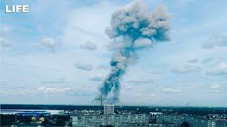 Взрыв на заводе AndquotКристаллandquot в Дзержинске