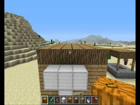 Minecraft comment cr er un golem de fer youtube - Minecraft golem de fer ...
