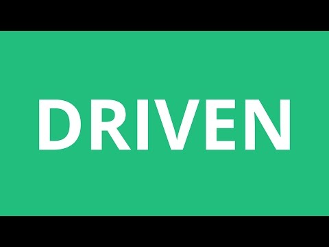 How To Pronounce Driven - Pronunciation Academy