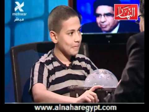 أصغر مخترع مصرى 1