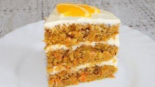 Морковный торт рецепт.  Время готовить.