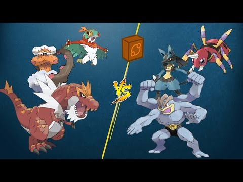 [PTCGO Stream Match] Tyrantrum/Landorus/Hawlucha vs Machamp/