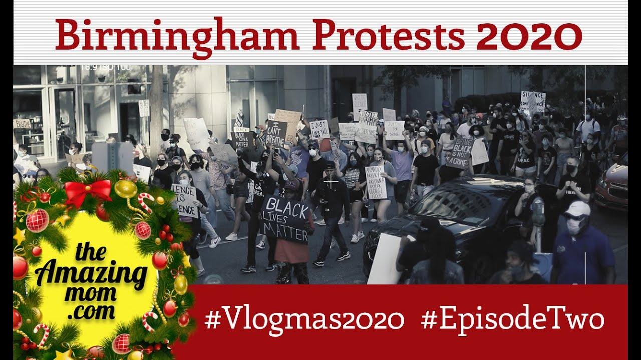 """Birmingham Protests 2020"" (#Vlogmas2020 Day 2)"