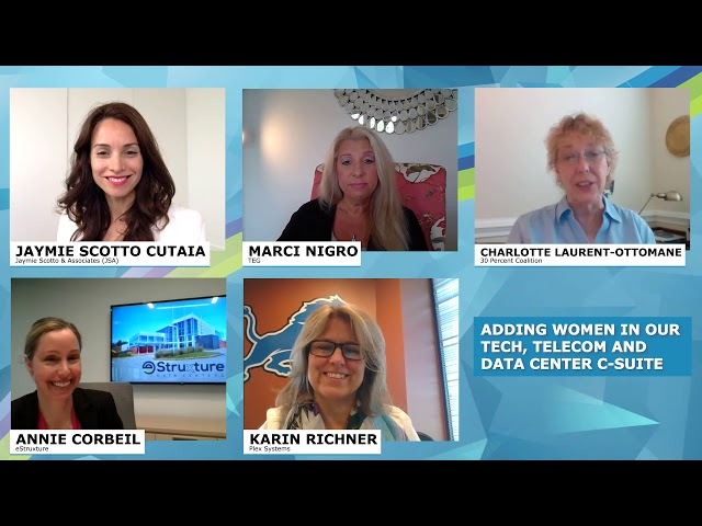 JSA Virtual CEO Roundtable 2019: Adding Women in our Tech, Telecom and Data Center C-Suite