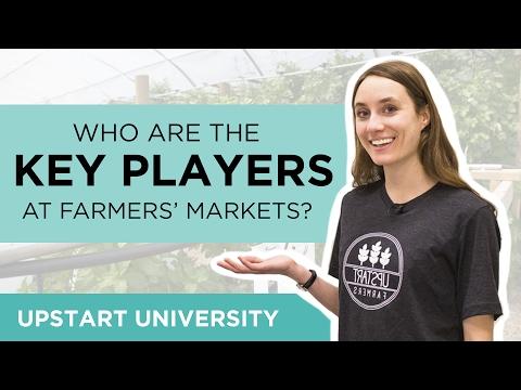Whoarethekeyplayers atafarmers'market?