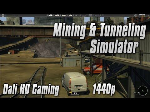 Mining & Tunneling Simulator PC Gameplay FullHD 1080p
