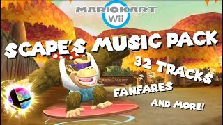 Scape's Mario Kart Wii Music Pack ♪ 32 Tracks + Fanfares ♪ SUPER SMASH BROS. ULTIMATE MUSIC & MORE