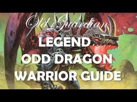 How to play Odd Dragon Warrior (Hearthstone Rastakhan Legend deck guide)