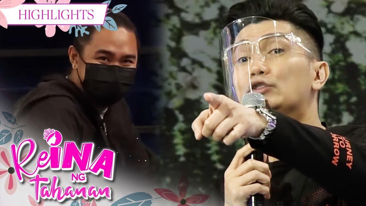 Download Vhong Navarro catches someone sleeping inside the studio   It's Showtime Reina Ng Tahanan