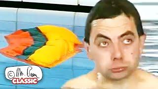 ဆုံးရှုံးသွားသောရေကူးဝတ်စုံ BEAN   Mr Bean ကိုရယ်စရာကောင်းသောကလစ်များ ဂန္ထဝင် Mr Bean