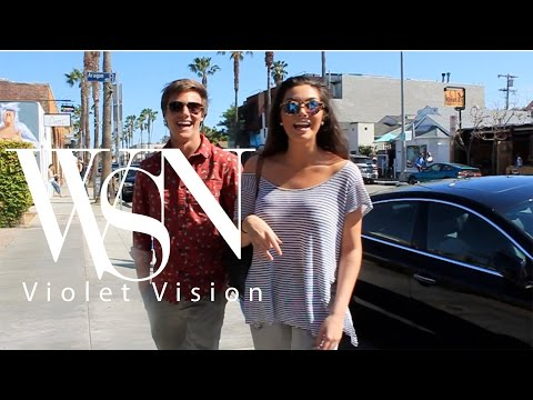 WSN | Violet Vision | Spring Trends 2016 feat. Kevin Quinn and Courtney Quinn