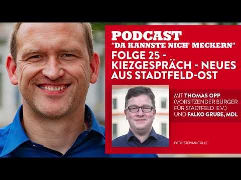 Podcast - Folge 25 - Kiezgespräch - Neues aus Stadtfeld Ost (mit Thomas Opp)
