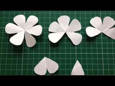 Tự làm hoa hồng giấy đơn giản