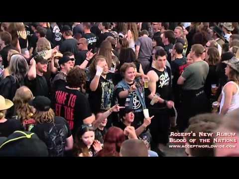ACCEPT  - Teutonic Terror LIVE- (OFFICIAL LIVE)