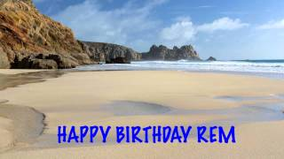 Rem Birthday Beaches Playas