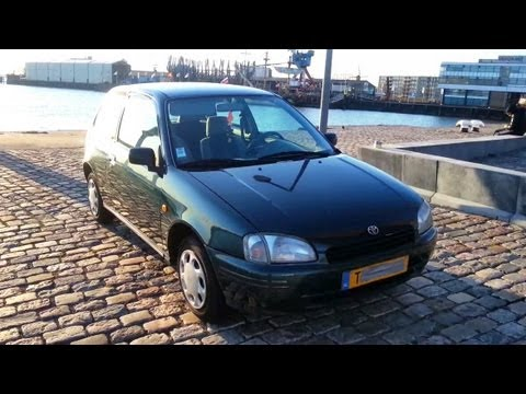 Toyota Starlet 1.3 16V Start Up In Depth Review Interior Exterior