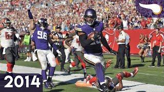 Rookies Barr & Bridgewater Shine - Vikings vs. Buccaneers (Week 8, 2014) Classic Highlights