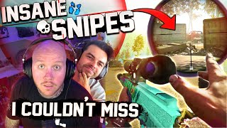 INSANE SNIPES! I'M CRACKED WITH THE SNIPER! FT. NADESHOT, SYMFUHNY & CROWDER
