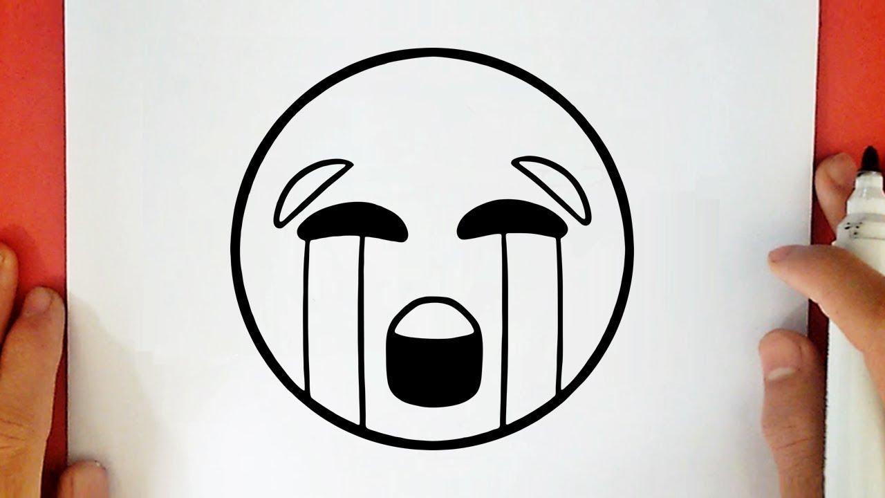Comment Dessiner Un Emoji Qui Pleure 2 Youtube