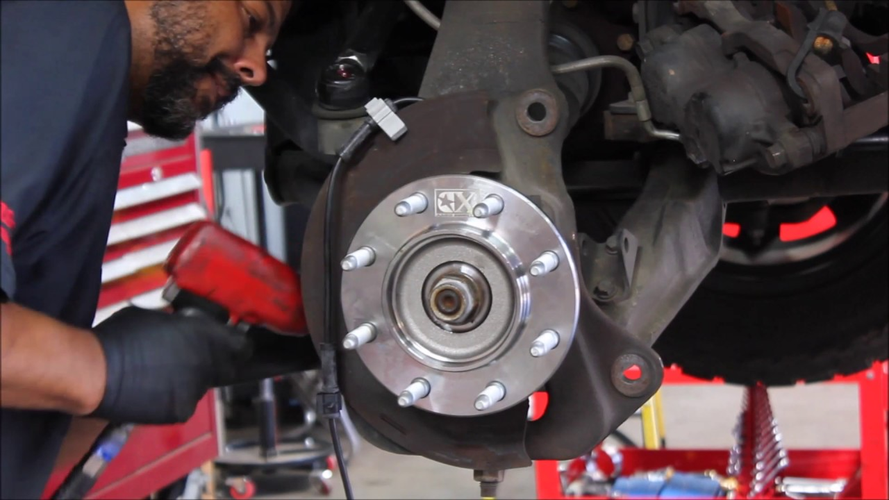 Wheel Bearing Install - 2001-2010 Duramax - YouTube