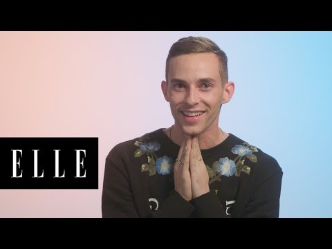Adam Rippon Talks About His Best — and Worst — Beauty Looks Through the Years | Glow Up | ELLE