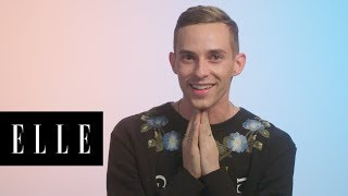 Adam Rippon Talks About His Best - and Worst - Beauty Looks Through the Years | Glow Up | ELLE