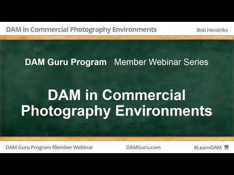 DAM Guru Program: Digital Asset Management in Commercial Photography Environments