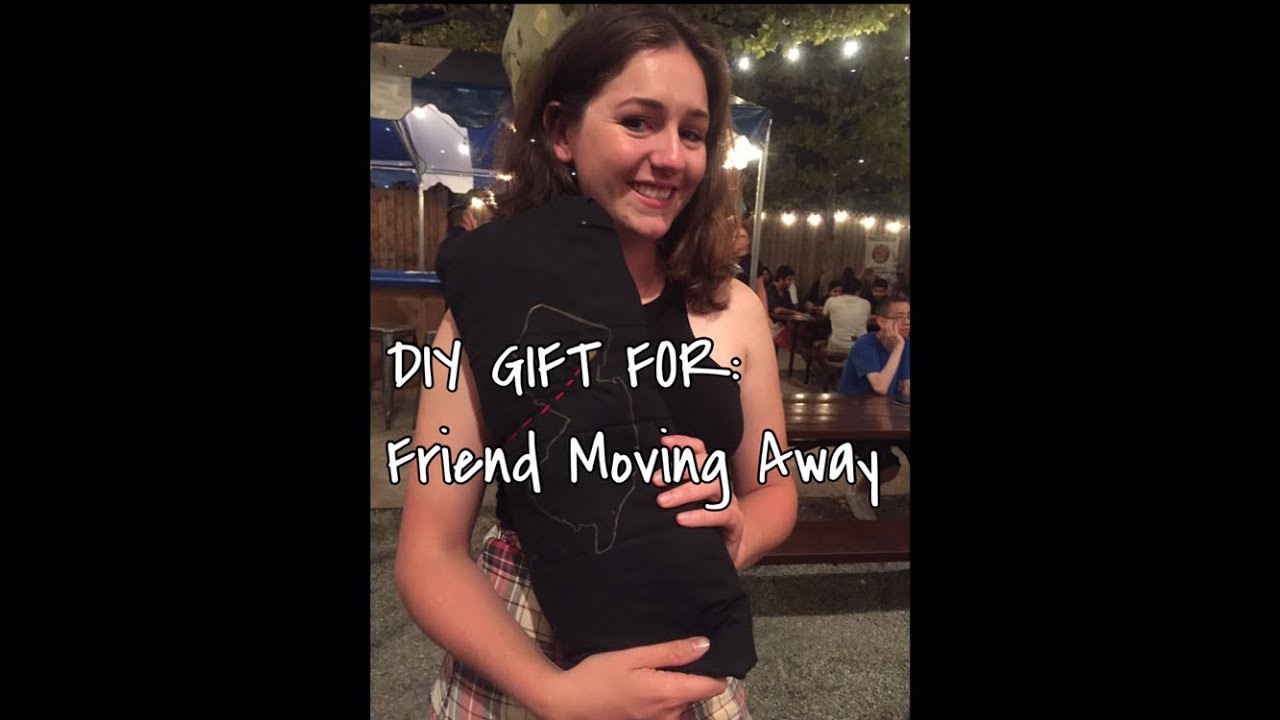 Gifts On The Go Diy Gift For A Friend Moving Away Youtube