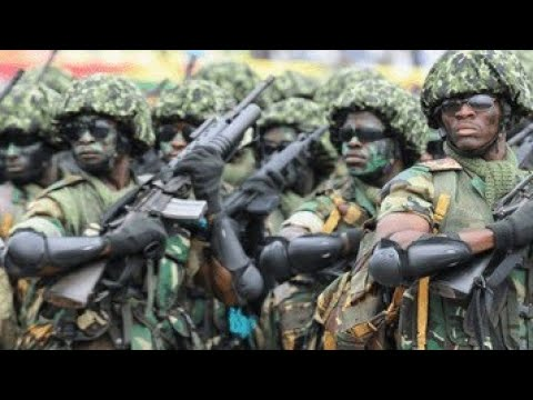 GHANA ARMED FORCES RECRUITMENT PROCESS (2020/2021)